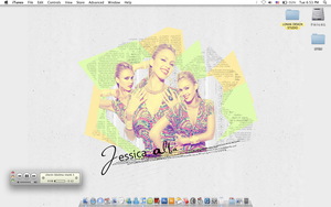 Jessica Alba in My Desktop :p by thehonor2