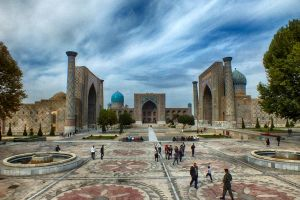 Registan Square (HDR) by clemlef