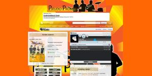 Myspace Band Page by spider-mat
