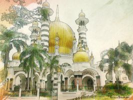 Ubudiah Mosque by in2cr3ativ3