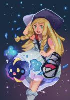 Pokemon Lillie by teohcheeeing