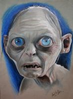 The Lord Of The Rings's Gollum (Smigol) by eksdeth
