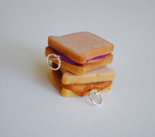 Sandwich Charms by ClayRunway