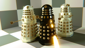 Imperial Daleks by WhosWho23