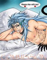 Pantera Grimmjow - Commission by Sambre-sambre