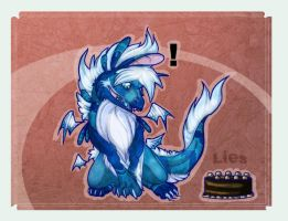 . The Cake Is A Lie . by Foxiful