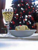 Sherry and Stilton by jonathondeans