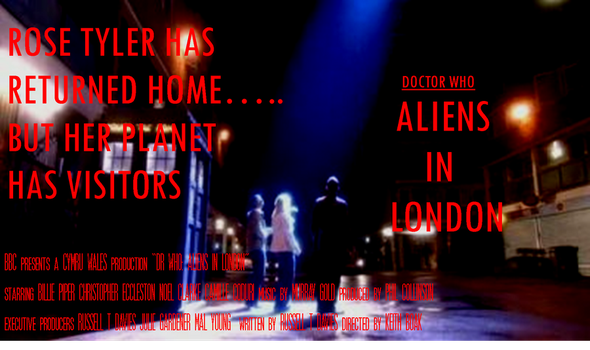 Doctor Who Film Poster - Aliens in London by mamajimmy