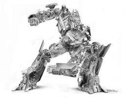 optimus prime by raulrk