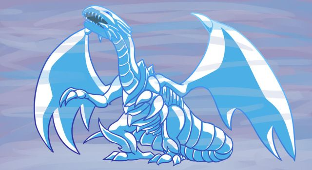 Blue Eyes White Dragon by SunScales