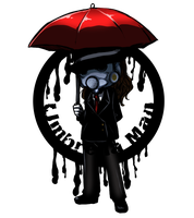 Commission : Umbrella Man by saraCHU