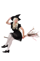 Witch for Halloween clear cut png part 2 by seawaterwitch