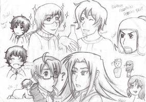 APH + SatW + Afugan by ToysAndChocolate