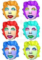 not marilyn and not warhol by nonakumis