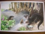 Florida Otters by The-EvIl-Plankton