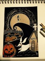 Inktober 1st- This is Halloween by Miss-Melis