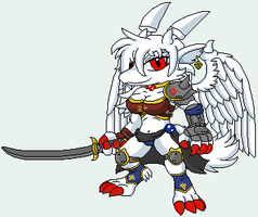 Whiteness ready to attack by NO-Body-The-Dragon