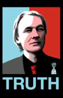 Assange :: TRUTH by RoyGbivu