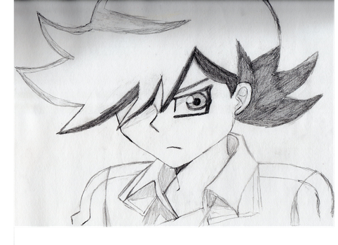 Sly Yugioh 5Ds by greenfluffybunny