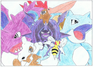 MY 1ST GeNeRaTioN PoKeMoN TeaM