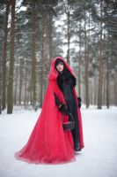 Red Riding Hood - female stock by Dea-Vesta