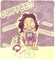 :: Too Much Coffee :: by raye-minamino