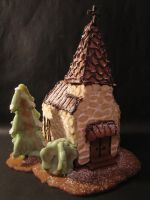 Gingerbread church by Jerisaza