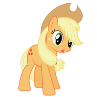Applejack Vector - What did you say the date is?? by Anxet