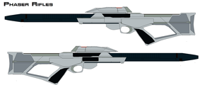 Phaser rifles by bagera3005