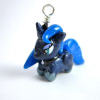 Princess Luna chibi charm by TrenoNights