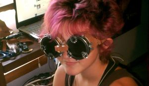 .:Steampunk Goggles:. by sisteroftheflame