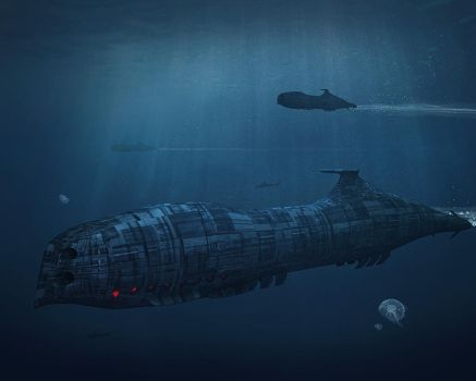 Submarine by khesm