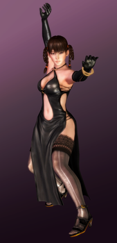Leifang - Black Dress Chi Ch'uan - 05 by HentaiAhegaoLover