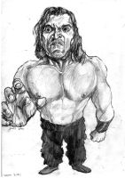 great khali by mana-boozy
