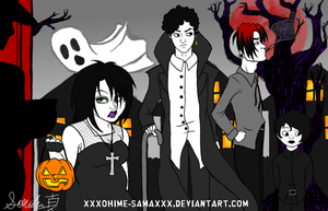 Goth Kids Halloween 2.0 by xXxOhime-SamaxXx