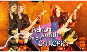 Adian Smith on concert by Fists-Of-Rock