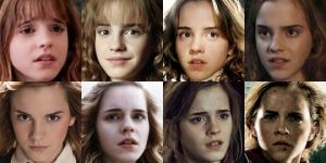 Hermione Through The Years by Cjrowland