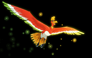 Ho-oh by SwankyShadow