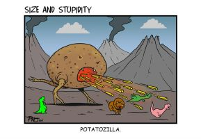 Potato by Size-And-Stupidity