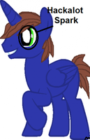 Somepony drew this for me on PonySquare! by HackalotSpark