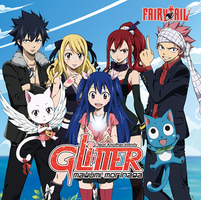 Glitter (Starving Trancer Remix) Album Cover by KagomeChan27