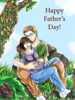 Happy Father's Day by Uneide