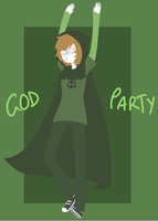 GOD PARTY by GravelPudding
