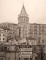 Galata Tower by ivoignob
