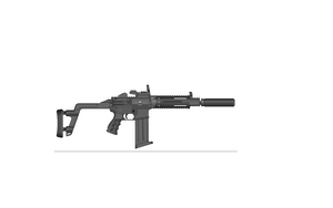 Malcolm Ind. Multi-Role Carbine (Silenced) MRC-S 7 by BrokenCutlass