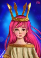Aurora Child Of Light by lanfanarts