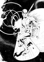 Silver Surfer by Moy-R