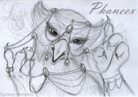 Phaneex the Eyrie by LadyScale