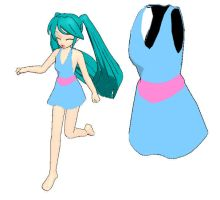 MMD-Dress DL by Shioku-990