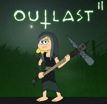 TLH/Outlast 2: Lori as Marta by EddyBite87